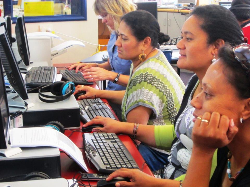 Stepping UP Blenheim Mums and Dads will soon graduate Computers in Homes and move on to Stepping UP (if their tutor is up for it!)